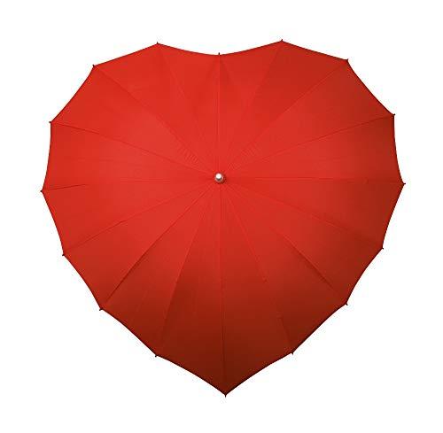 Herz-Regenschirm