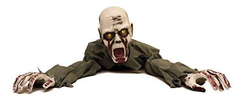 Kriechender Zombie mit Licht und Ton