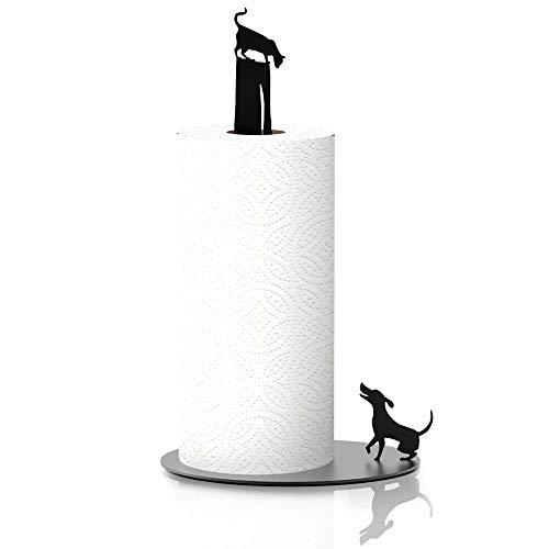 Katzen-Küchenrollenhalter