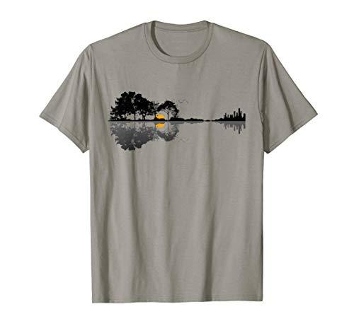 Natürlich Gitarre-Shirtmotiv