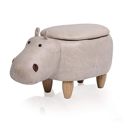 Hippo-Hocker mit Hohlraum