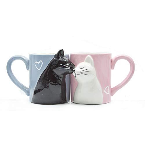 Katzenpaar-Tassen