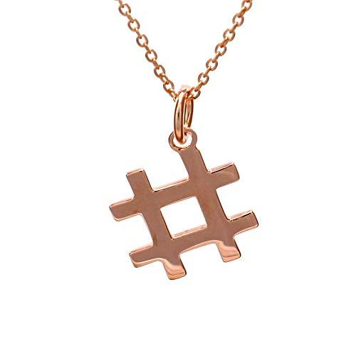 Hashtag-Halskette