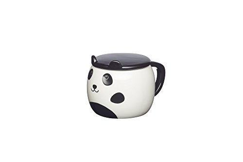 Panda-Tasse mit Deckel
