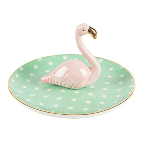 Flamingo-Schmuckteller