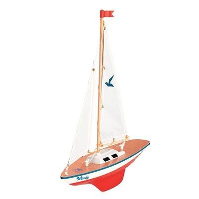 Segelboot für den Gartenteich