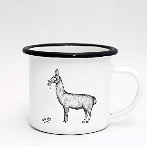 Lama-Trinkbecher