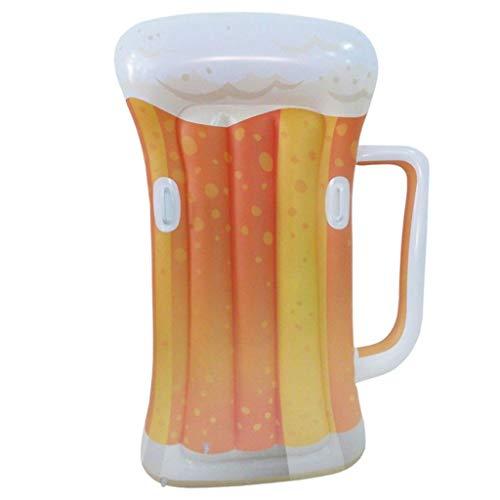 Luftmatratze für den Biersommer