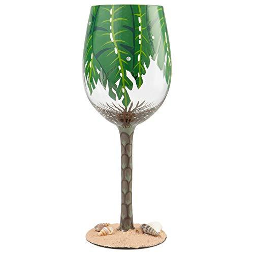 Blatt-Weinglas