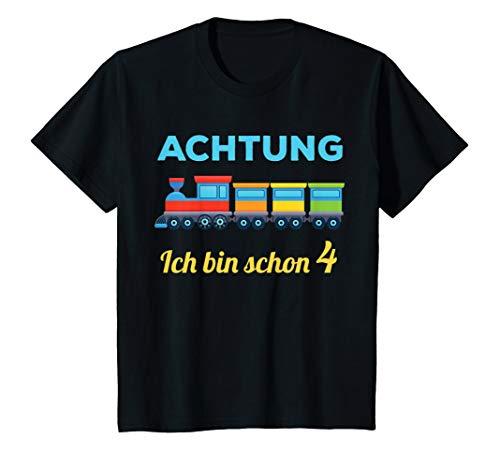 Kinder 4. Geburtstag Jungen 4 Jahre 4-jährig Zug Bahn...