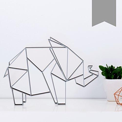 Elefanten-Wanddeko