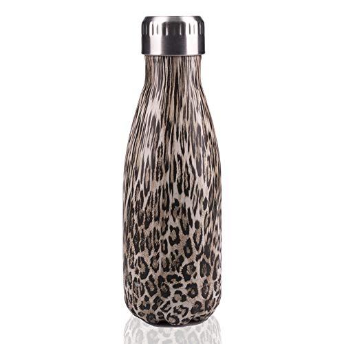 Leopardenmuster-Trinkflasche