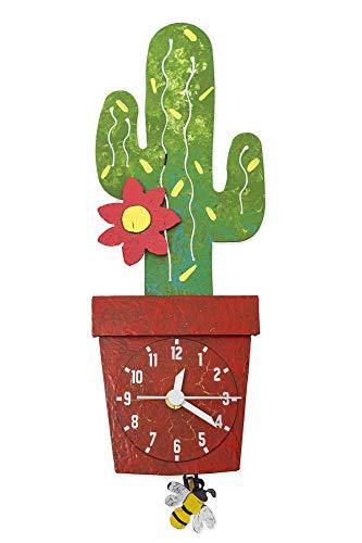 Kaktus-Pendeluhr
