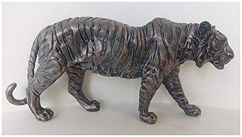 Tiger-Skulptur