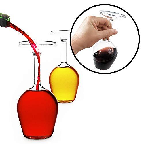 Verkehrtes Weinglas