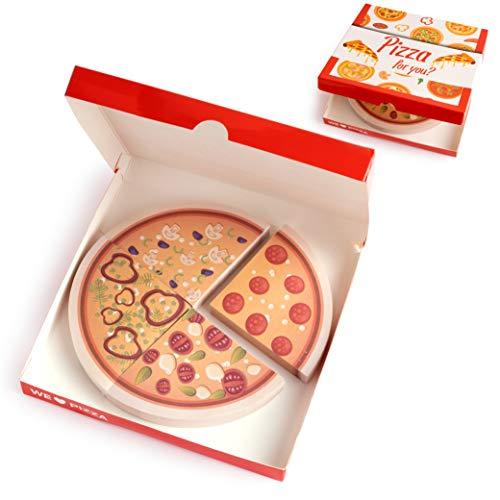 Pizza-Haftnotizen
