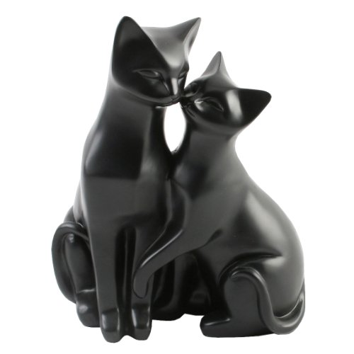 Katzenskulptur
