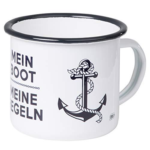 Tasse 'Mein Boot - Meine Regeln'