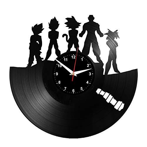 Schallplattenvinyl-Uhr
