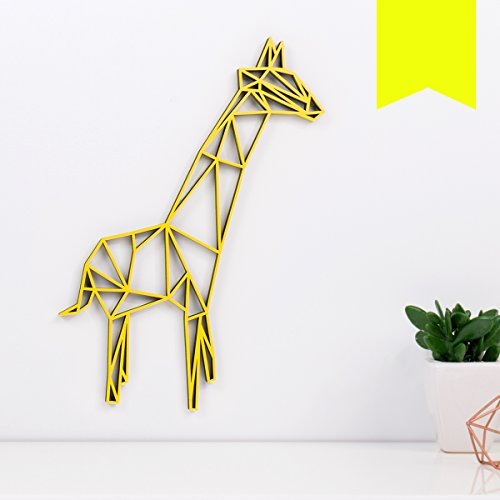 Giraffen-Wanddeko