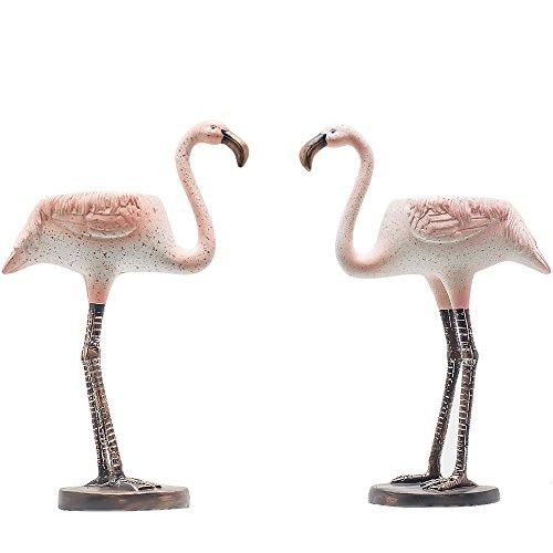 Flamingo-Teelichthalter