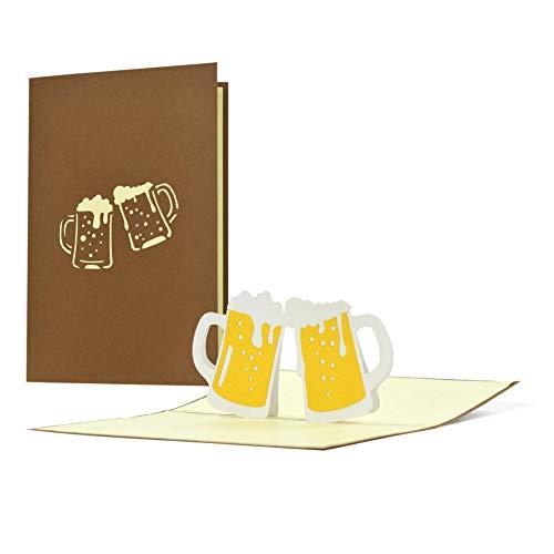 3D-Karte für Bierliebende