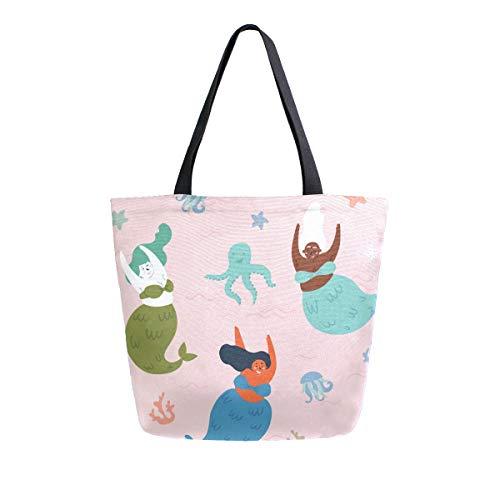 Meerjungfrau-Einkaufstasche