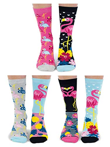 Flamingo-Socken