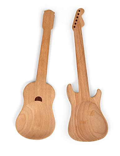 Rockende Kochöffel aus Holz