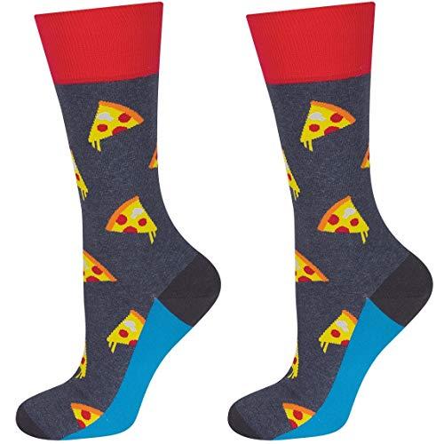 Pizza-Socken (40-45)