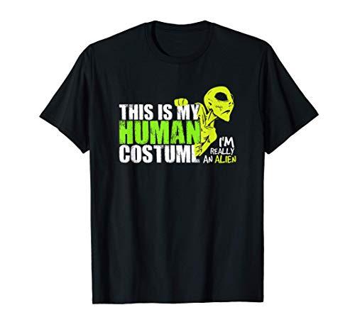Alien Kostüm-Shirt