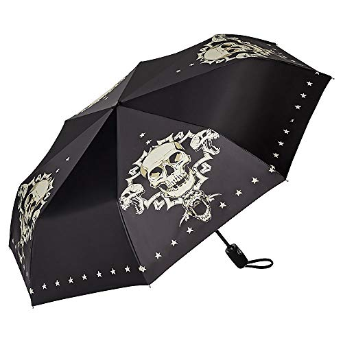 Totenkopf-Regenschirm