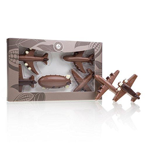 Flugzeuge aus Schokolade