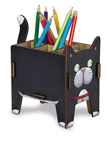Katzen-Stiftebox