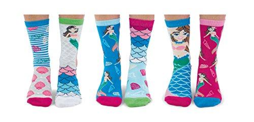 Meerjungfrau-Socken für Damen