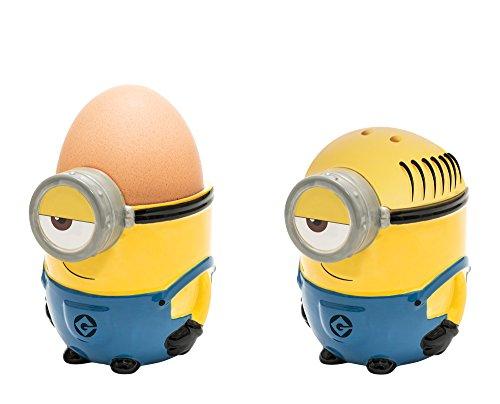 Eierbecher und Salzstreuer