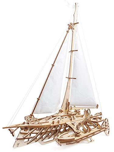 3D- Holzpuzzle Trimaran