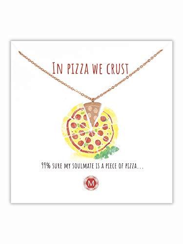 Pizza-Halskette