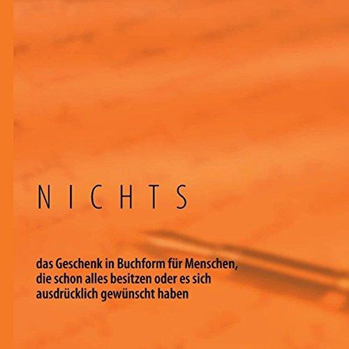 NICHTS-Buch