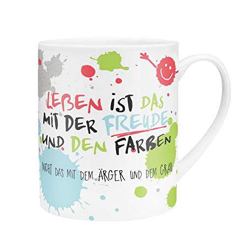 XL-Happy Tasse: Gute-Laune-Gedanken