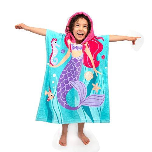 Badecape Meerjungfrau