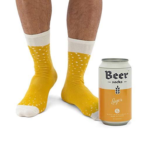Socken mit Schaumkrone