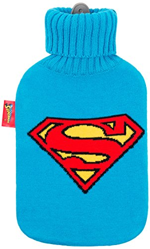 Superman-Wärmflasche