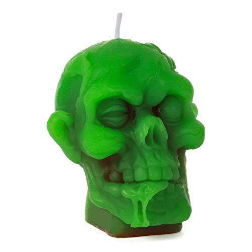 Zombiekopf-Kerze