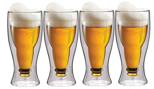 Schwebeeffekt-Biergläser