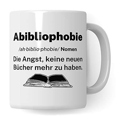 Tassen-Geschenk für Bücherwürmer