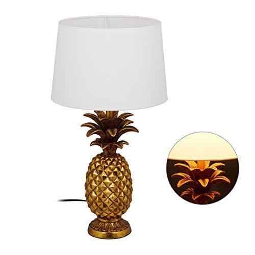 Ananas-Tischleuchte