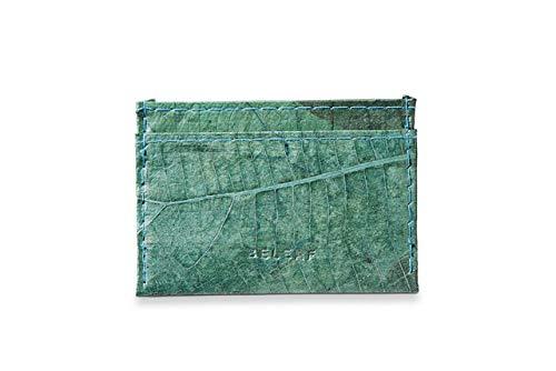 Slim Wallet aus Blättern