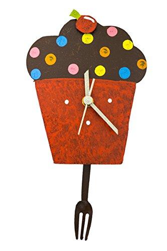 Cupcake-Pendeluhr