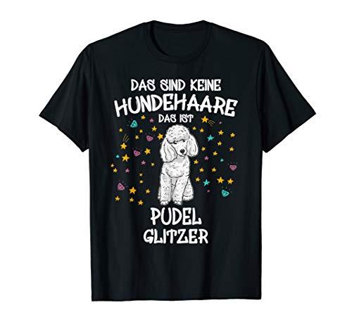 Printshirt Pudelglitzer